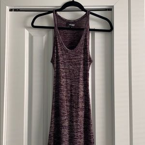 WILFRED FREE MARL DRESS, cut out in back